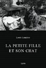 La petite fille et son chat (C)