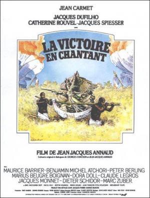 La victoria en Chantant (Negros y blancos en color)