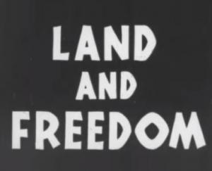 Land and Freedom (C)
