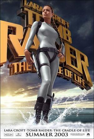 póster de la película Lara Croft 2: La cuna de la vida