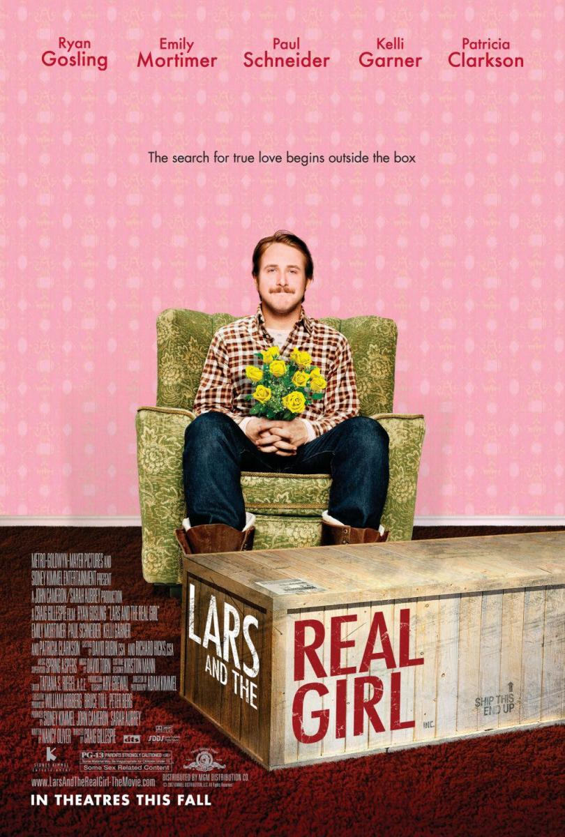 lars and the real girl belonging Lars and the real girl production notes when lars lindstrom (ryan gosling) introduces his brother gus (paul schneider) and sister-in-law karin (emily mortimer) to his.