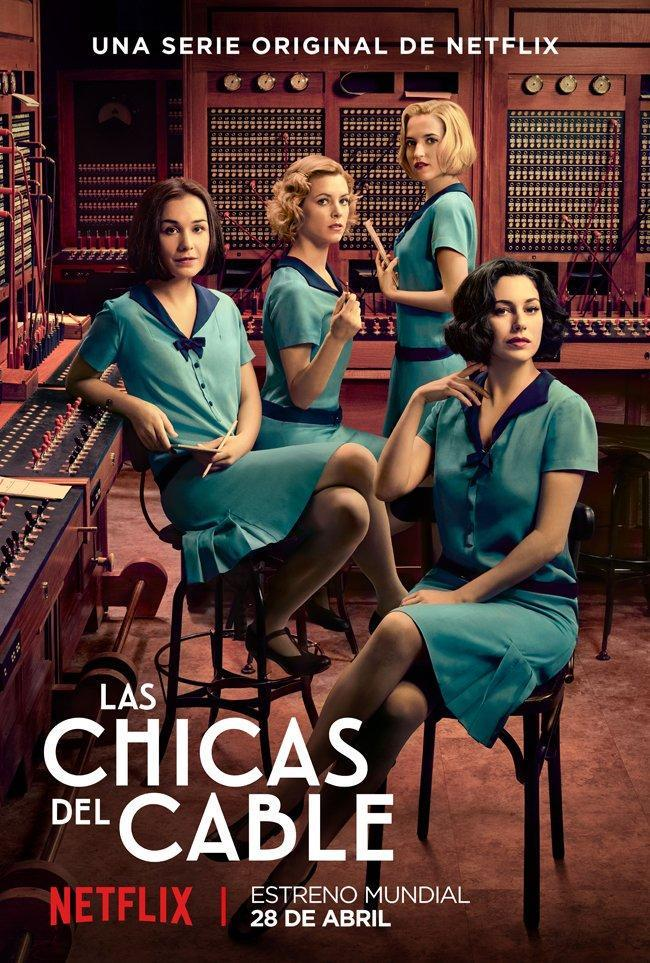 Cable girls tv series 2017 filmaffinity - Las chicas de oro serie ...