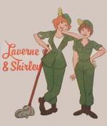 Laverne y Shirley en el ejército (Serie de TV)