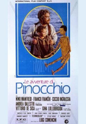 Las aventuras de Pinocho (TV) (Miniserie de TV)