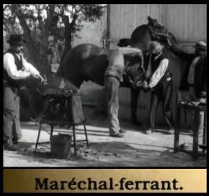 Le maréchal-ferrant (C)