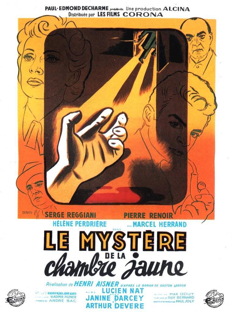 Le myst re de la chambre jaune 1949 filmaffinity - Le mistere de la chambre jaune ...