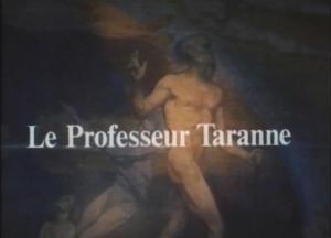El profesor Taranne