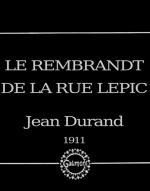 Le Rembrandt de la rue Lepic (C)