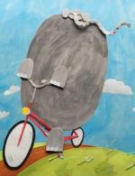 El elefante y la bicicleta (C)