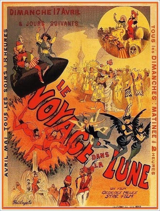 Viaje A La Luna (C) (1902)