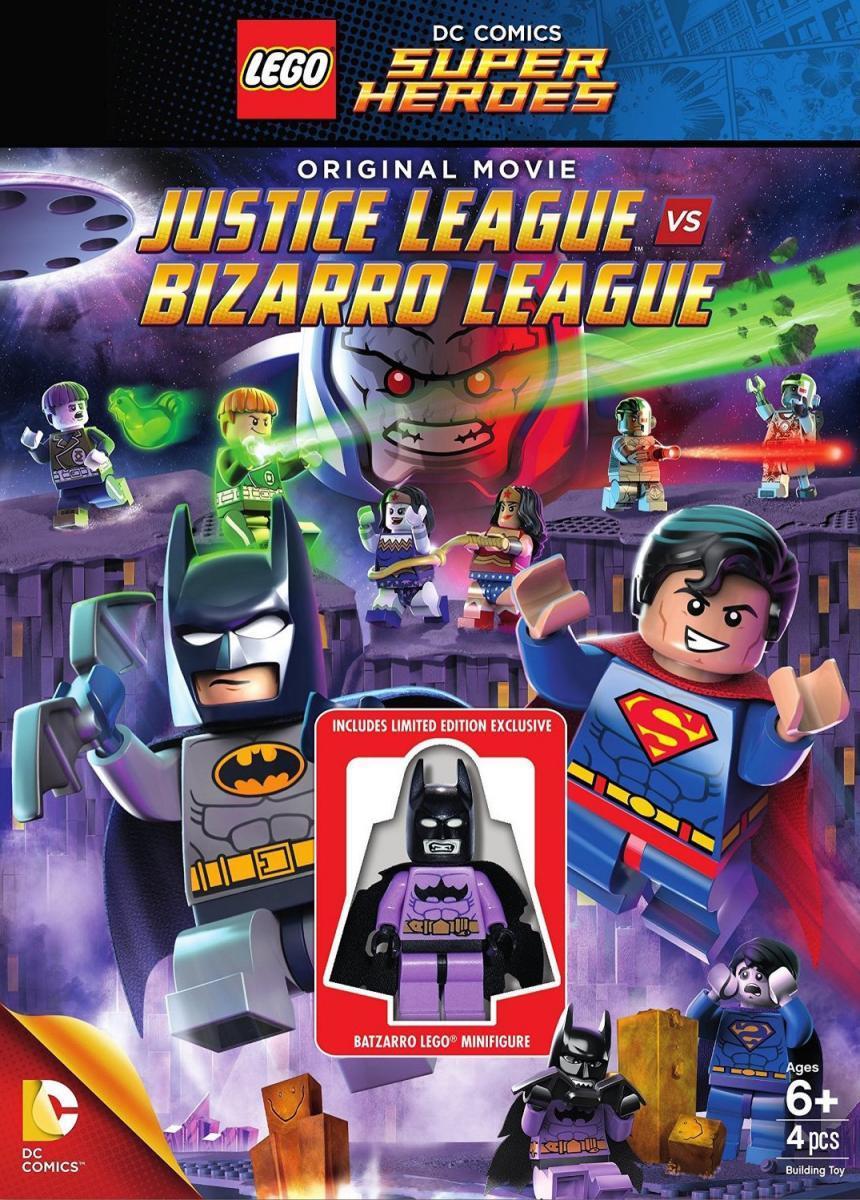 La Liga de la Justicia contra la Liga de Bizarro (2015) [1080p] [Latino] [MEGA]