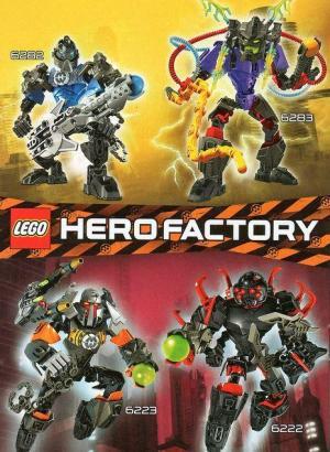 Lego Hero Factory (TV Series) (Serie de TV)