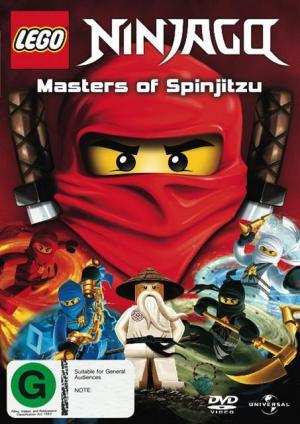 Ninjago: Maestros del Spinjitzu (Miniserie de TV)