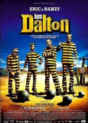 Lucky Luke and the Daltons