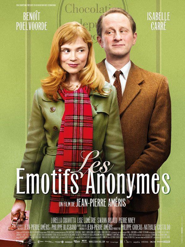 póster de la película de comedia romántica Tímidos anónimos