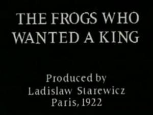 Las ranas que querían un rey (C)