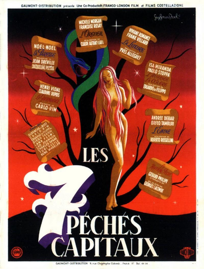 The seven deadly sins 1952 filmaffinity for Jardin 7 peches capitaux