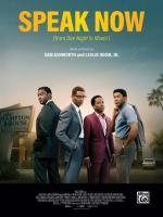 Leslie Odom Jr.: Speak Now (Vídeo musical)
