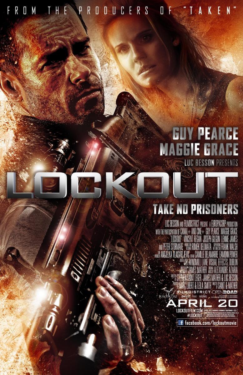 Lockout (2012) | Напролом (2012)
