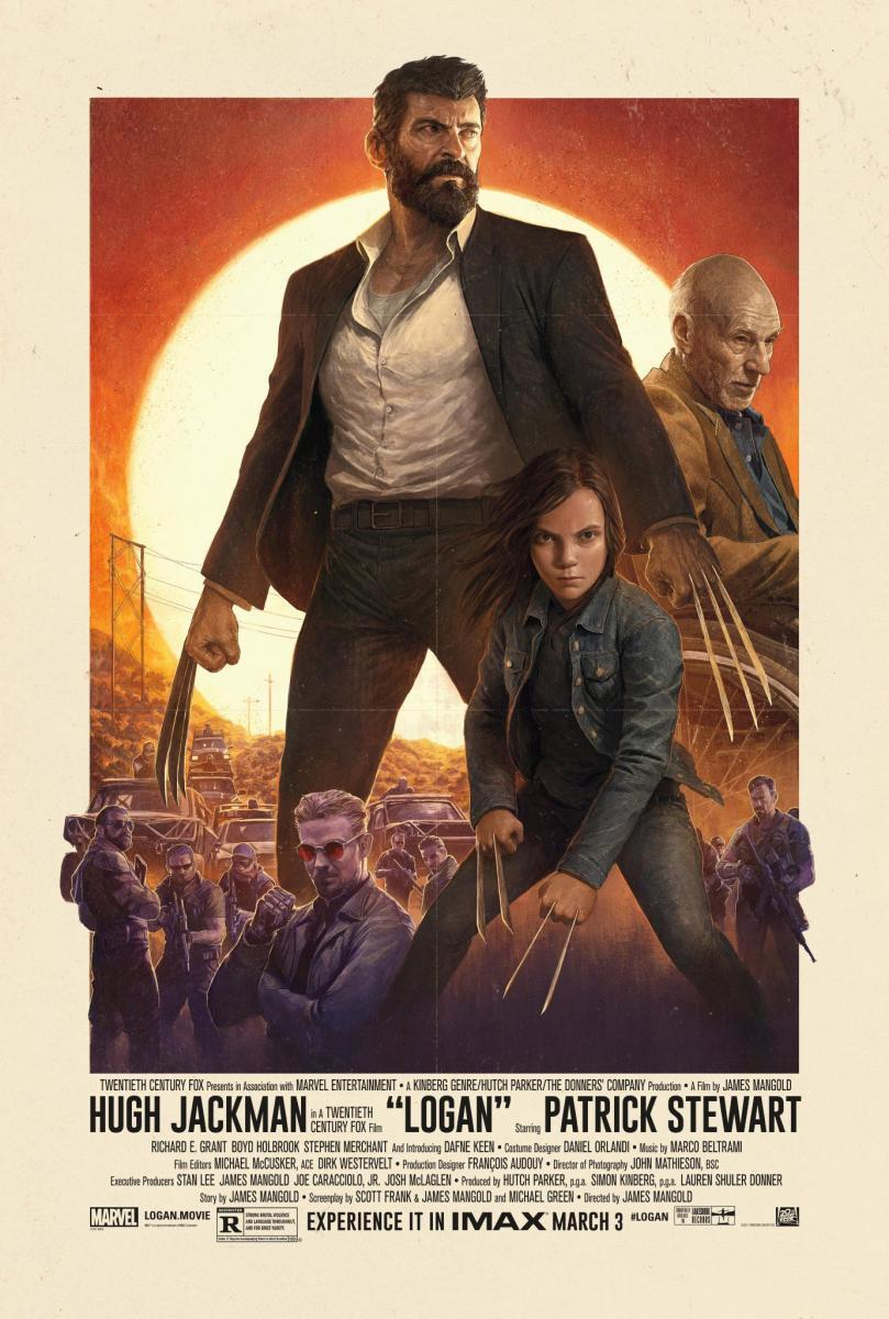 Logan: Wolverine NOIR EDITION (2017) 1080p Latino Zippyshare ()