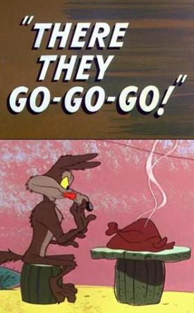 El Coyote y el Correcaminos: There They Go-Go-Go! (C)