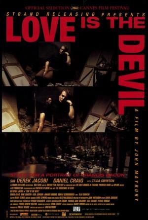 El amor es el demonio. Estudio para un retrato de Francis Bacon