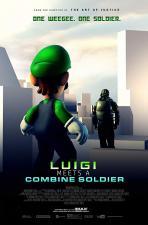 Luigi Meets a Combine Soldier (C)
