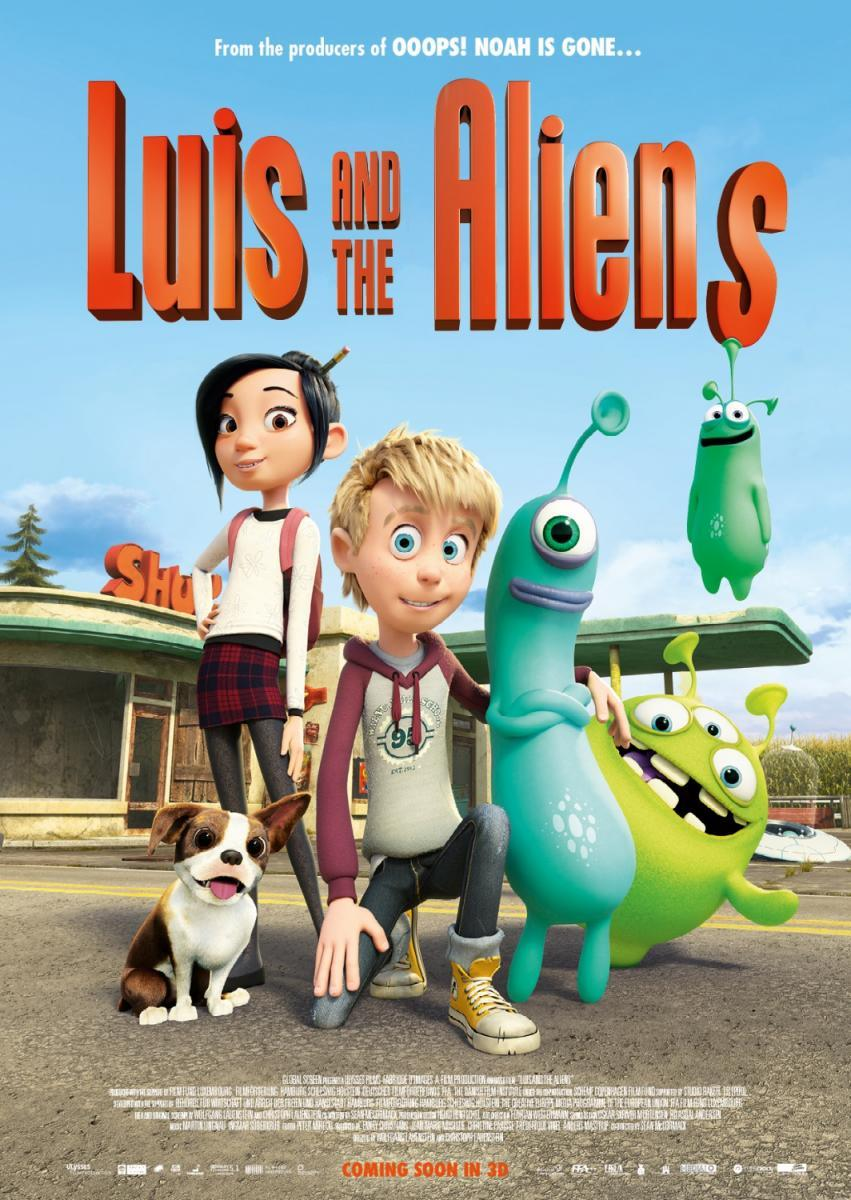 Luis y los marcianos (2018) 1080p MEGA Latino