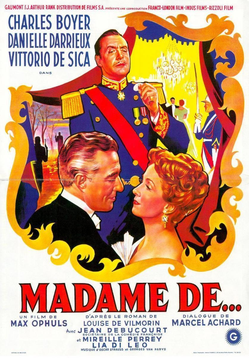 The Earrings Of Madame De
