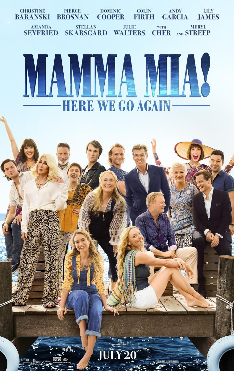 Mamma Mía! Vamos otra vez (2018) 1080p Latino Gratis ()