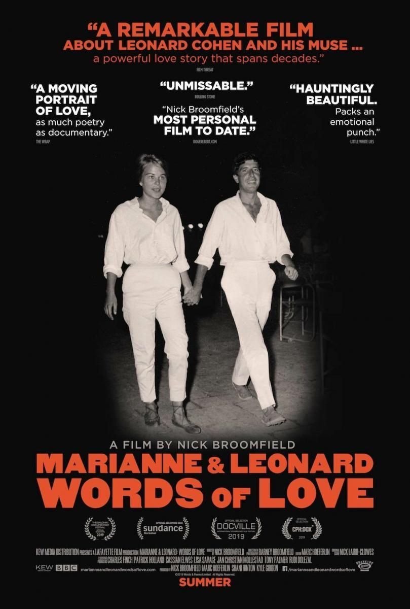 Marianne y Leonard: Palabras de amor (2019) - Filmaffinity
