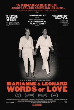 Marianne y Leonard: Palabras de amor