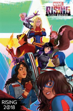 Marvel Rising: Secret Warriors (2018) [BRRip] [1080p] [Full HD] [Latino] [1 Link] [MEGA] [GDrive]
