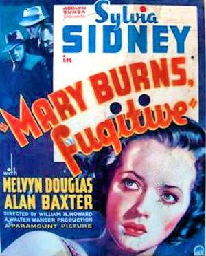 Mary Burns, fugitiva