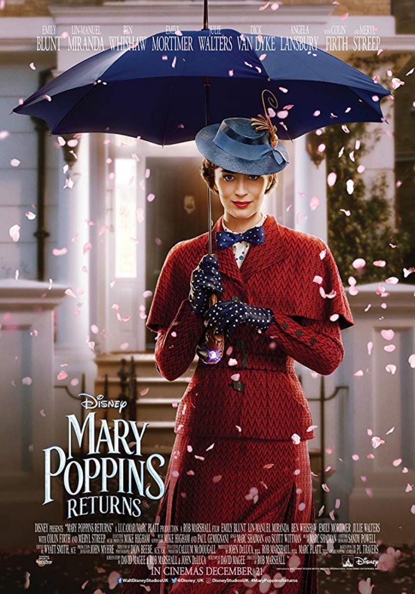 El Regreso De Mary Poppins (2018) BRRip 1080p Latino – Ingles