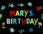 Mary's Birthday (C)