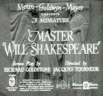 Master Will Shakespeare (S)
