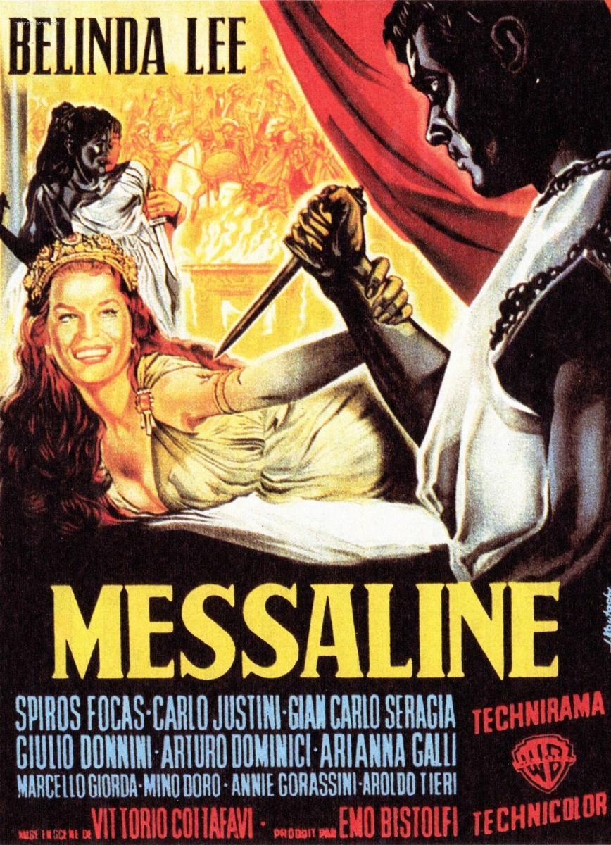 """Portada de la pel·lícula Messalina """" (1960)"""