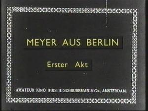Meyer aus Berlin