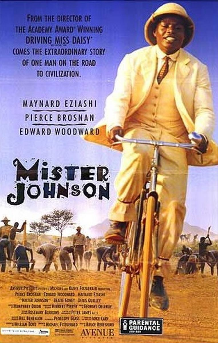 mr johnson Mister johnson: off the beaten track by neil sinyard september 24, 2015 bruce beresford critiques the british colonialist era in this precise, layered.
