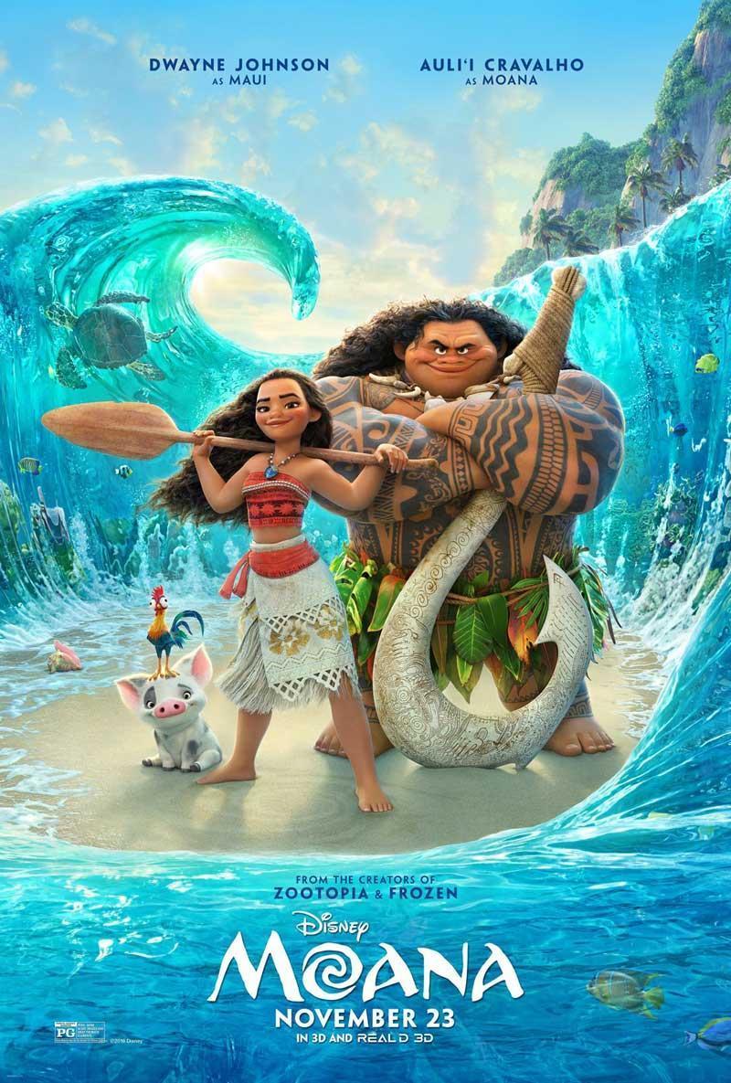 Moana: Un Mar De Aventuras (2016) BRRip 1080p Latino – Ingles
