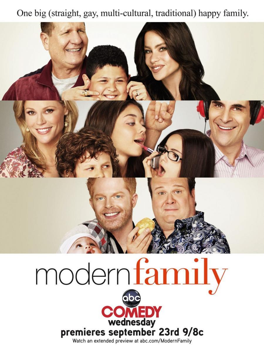 modern family serie de tv 2009 filmaffinity. Black Bedroom Furniture Sets. Home Design Ideas