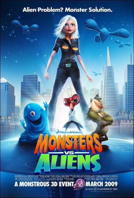Monstruos contra Aliengenas 2009  FilmAffinity