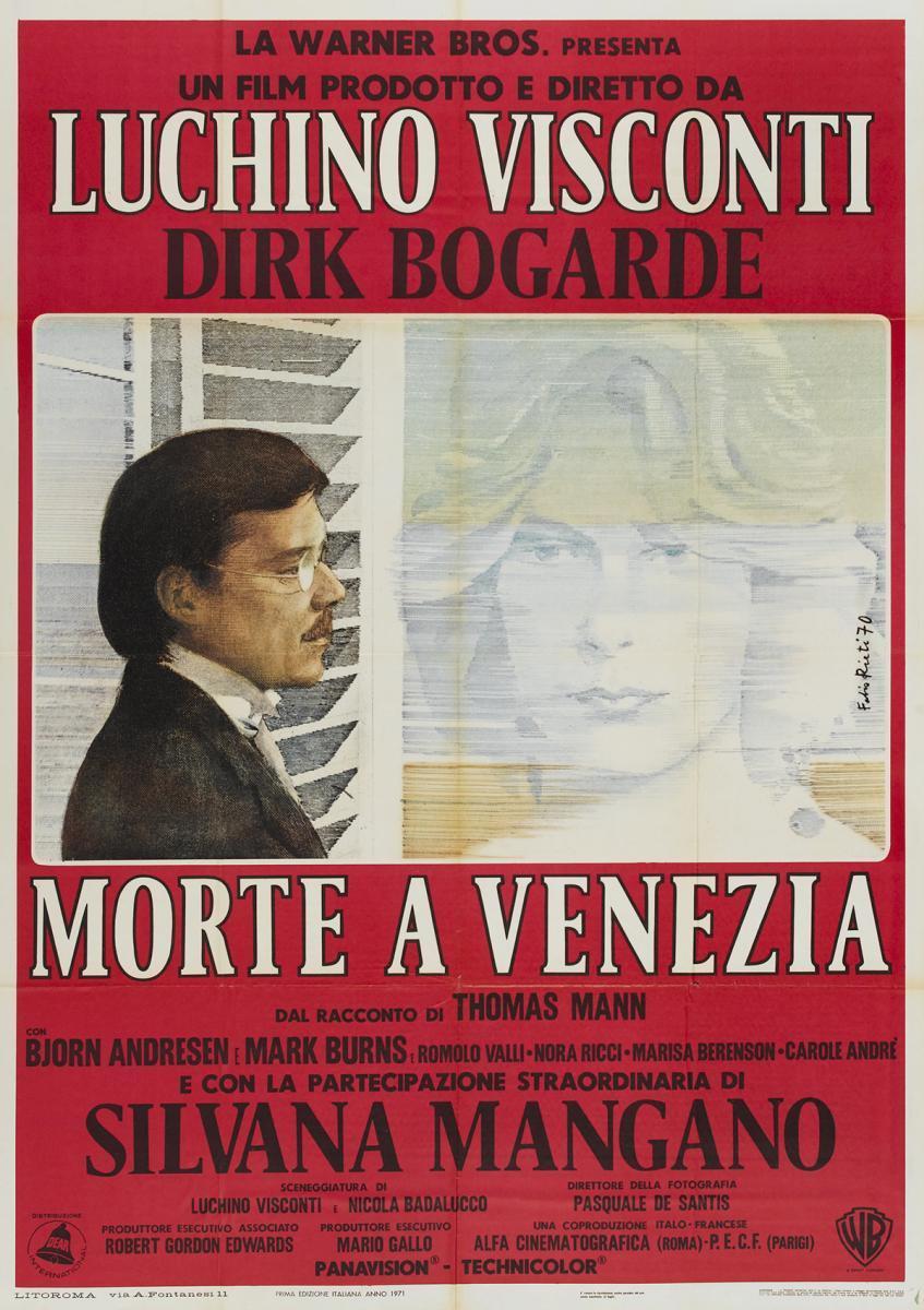 Resultado de imagen de muerte en venecia