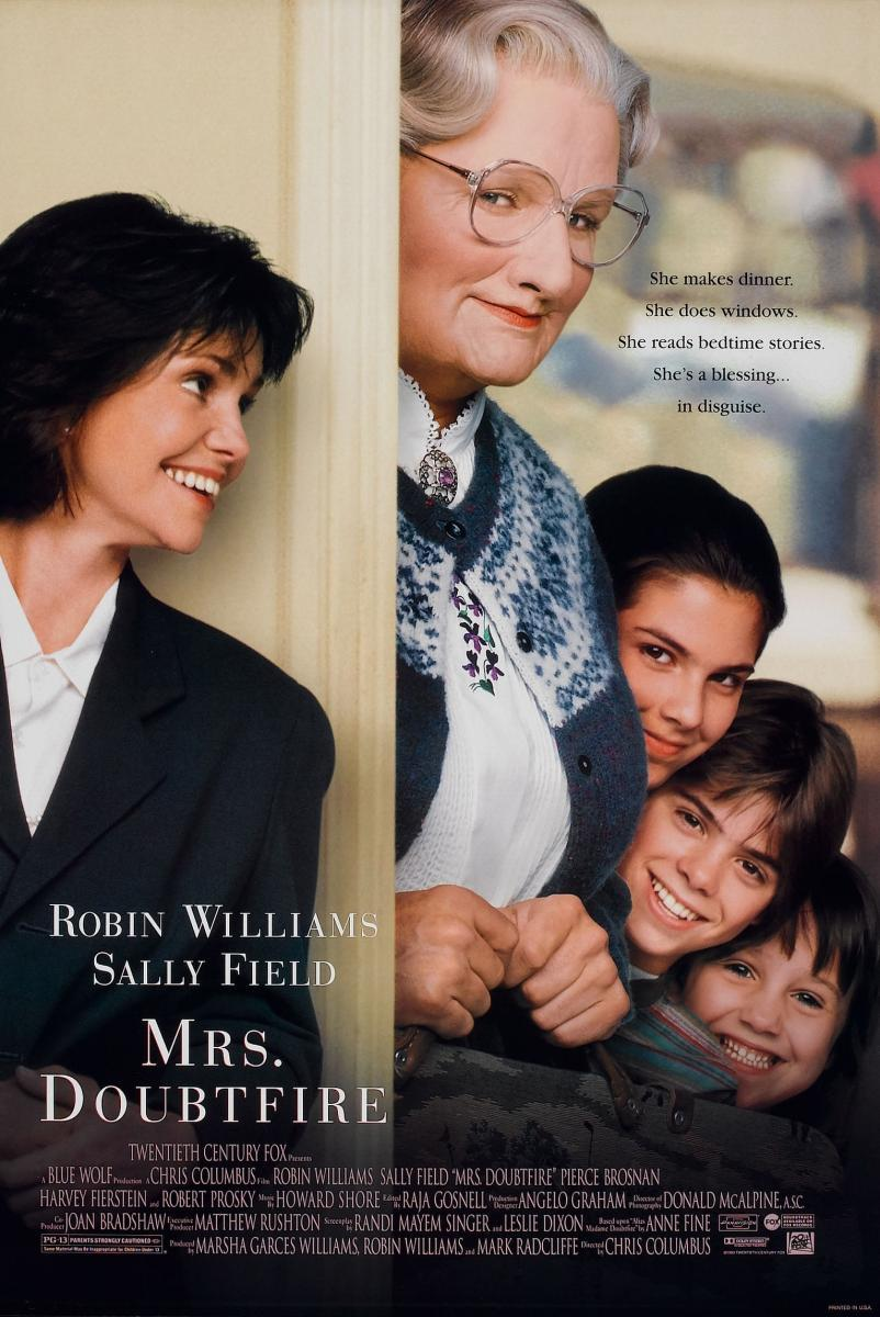 póster de la película Señora Doubtfire
