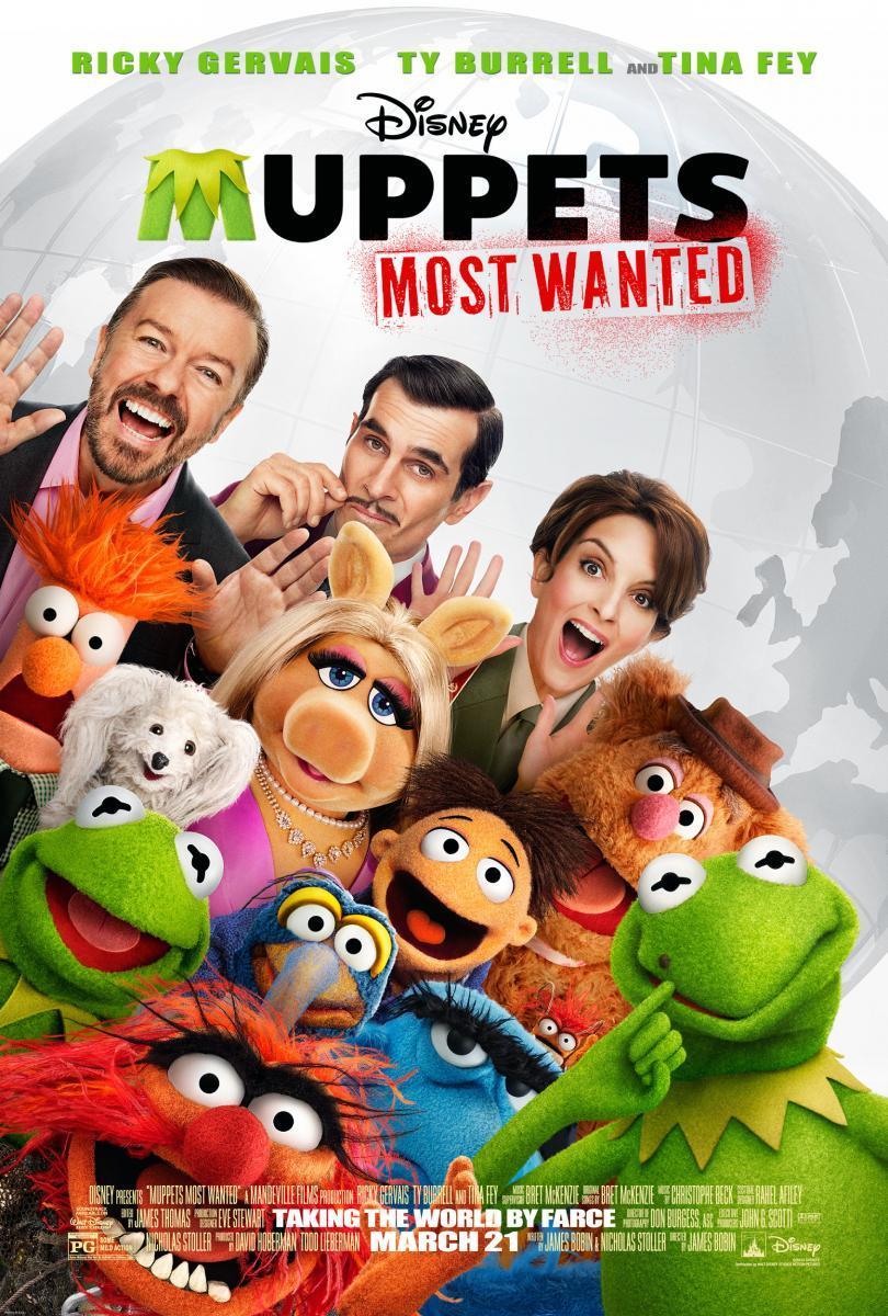 Muppets 2: Los más buscados (2014) ()