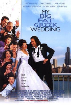 póster de la película Mi gran boda griega
