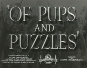 Of Pups and Puzzles (C)