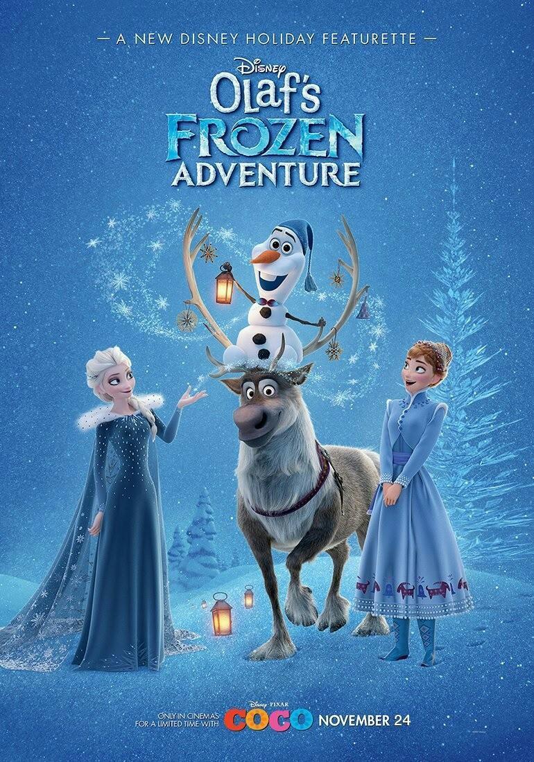 Frozen: Una aventura de Olaf [2017][Español Latino] [1080p][MEGA]