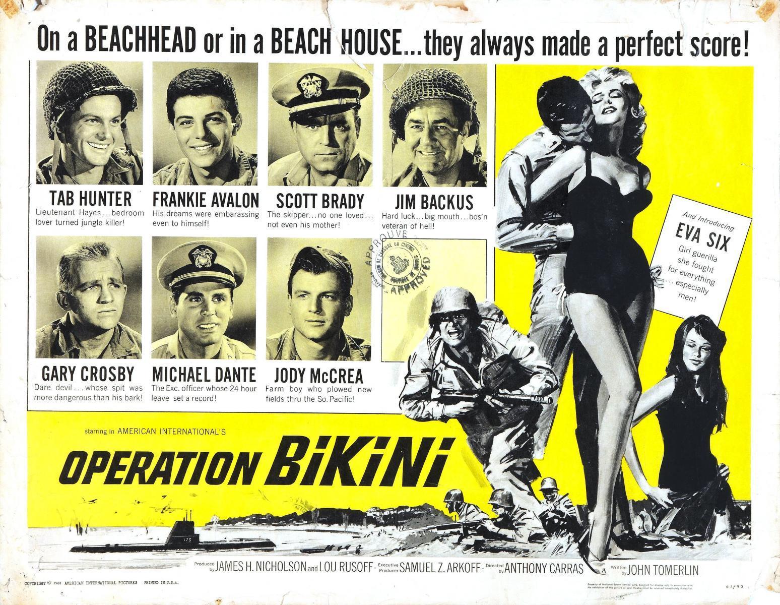 Operation bikini costar in 1963